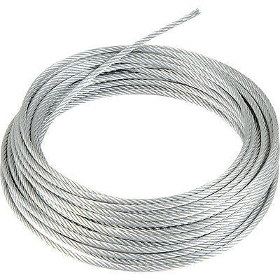 5mm Stainless Steel Wire Rope - Chain Care Lifting Services Ltd  - 1