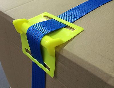 25x Plastic Corner Protectors for Ratchet Straps - Chain Care Lifting Services Ltd