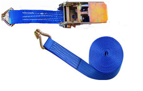 1000kg x 5 Metre Ratchet Straps (2pcs) - Chain Care Lifting Services Ltd  - 1