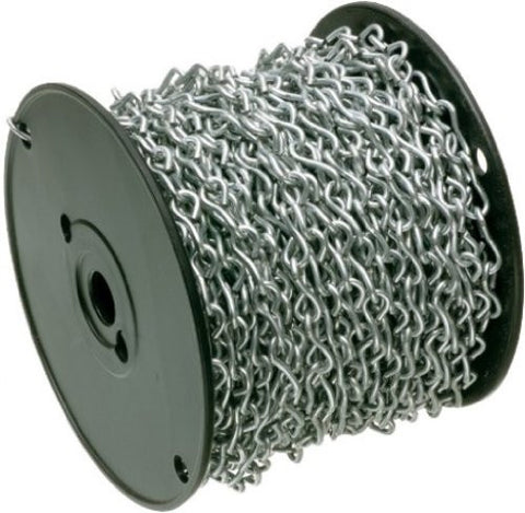 5mm Steel Straight Link Chain Zinc Plated 30m Reel - Chain Care Lifting Services Ltd  - 1