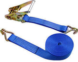 5000kg x 12 Metre  Ratchet Straps (8pcs) - Chain Care Lifting Services Ltd  - 1
