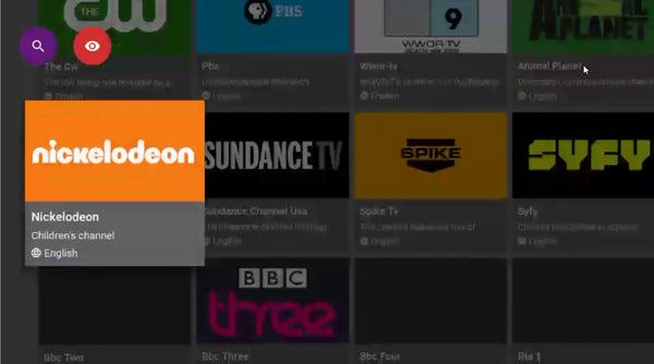 nickelodeon - jailbroken fire stick