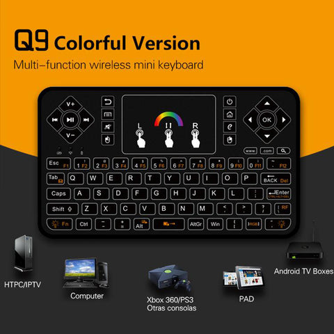 q9 wireless remote for jailbroken x96 mini