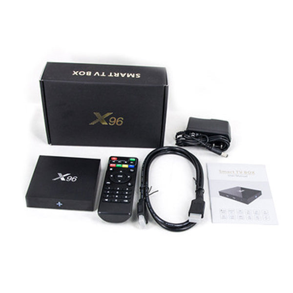 X96 Mini Android TV Box With Q9 Bluetooth Keypad- Jailbroken Firestick Alternative - DIGSMARKET