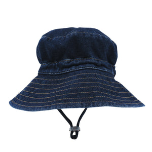 Denim Sunhat with toggle from Fox & Finch