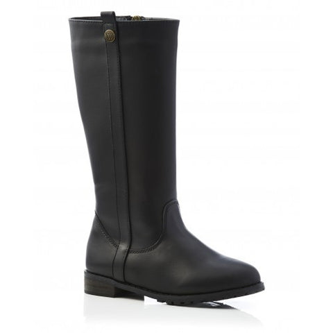 Maddy Long Boot Black