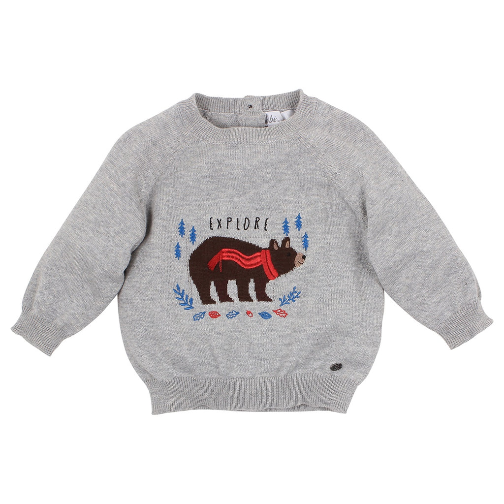 Bebe Oskar Graphic Jumper at Little Steps