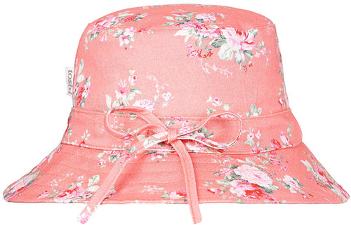Toshi Floral Sunhat Cherry at Little Steps