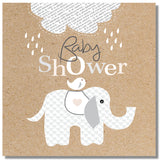 Baby Shower Elephant Card