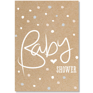 Baby Shower Confetti  - Card