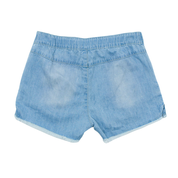 JAIPUR DENIM SHORT W TASSEL TIE
