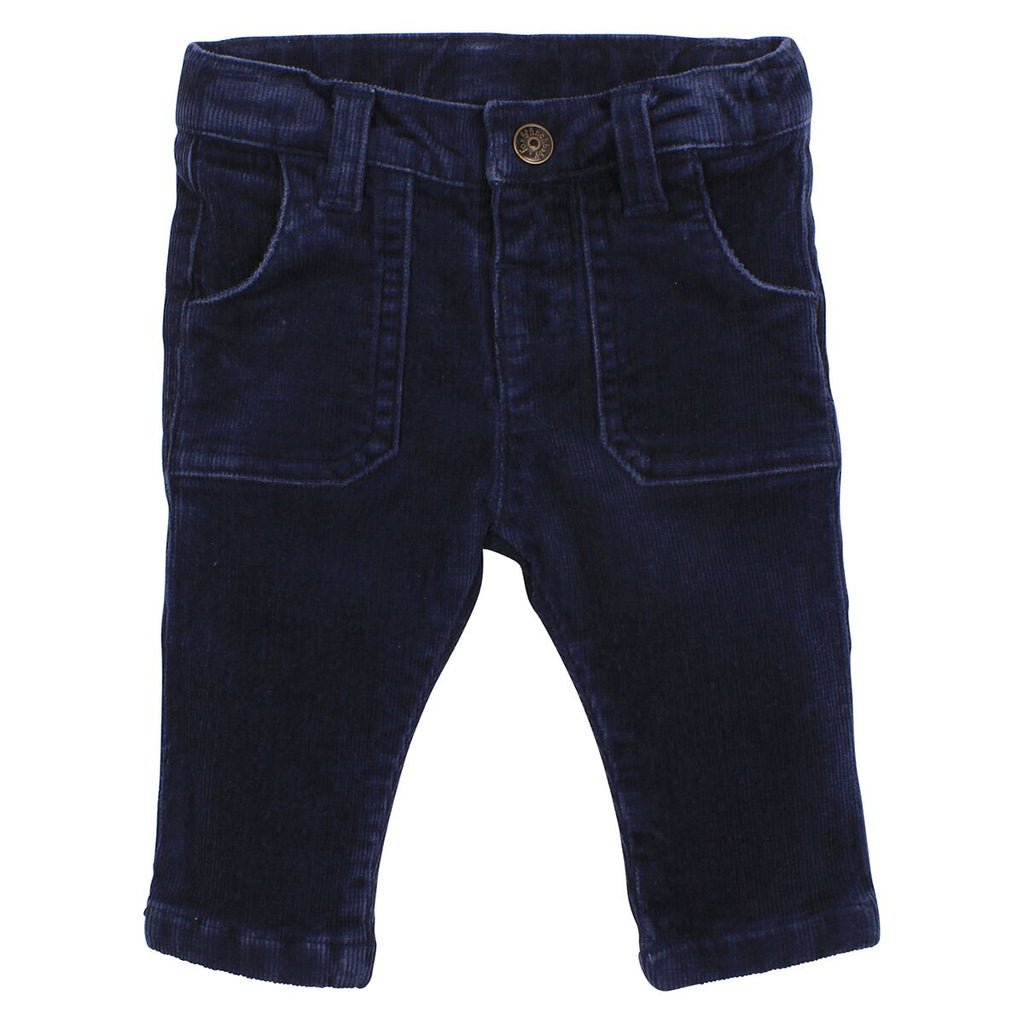 Fox & Finch Hinterland Navy Pant at Little Steps