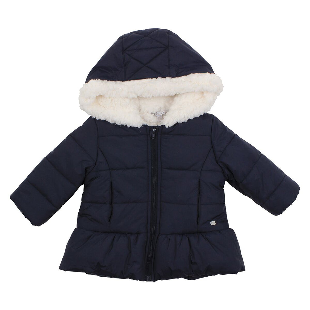 Bebe Winter Coat in Navy at Little Steps