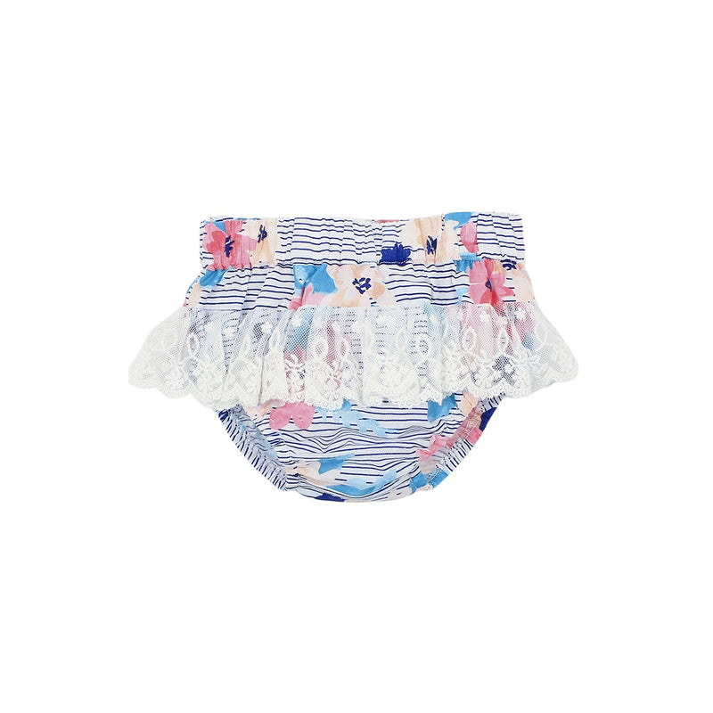 Abby Floral Lace Nappy Pant