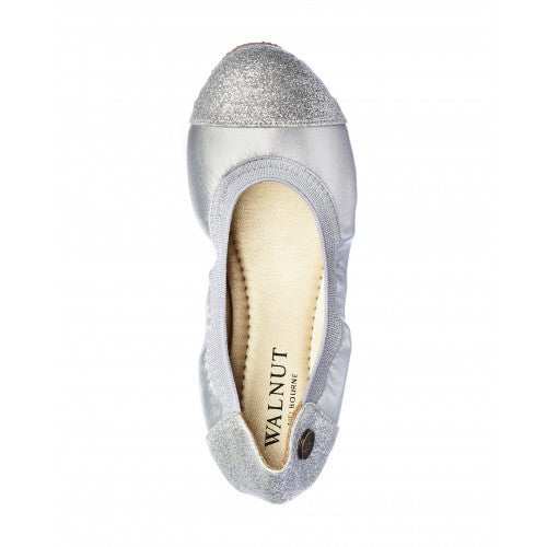 Kate Sparkle Toe Silver - Little Steps Bowral - 2