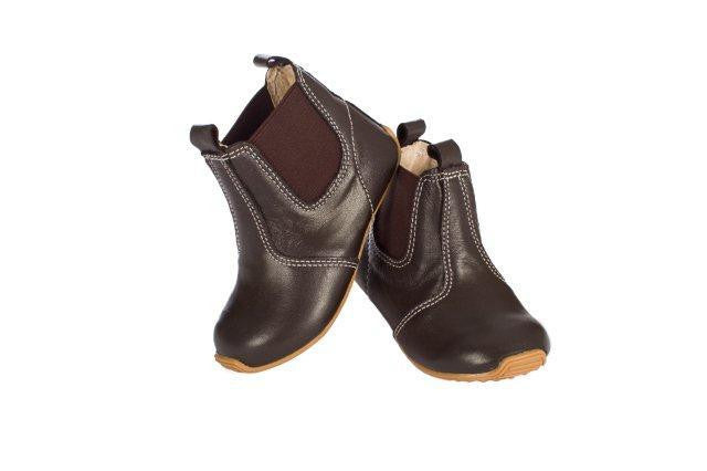 Riding Boot Chocolate - Little Steps Bowral - 1