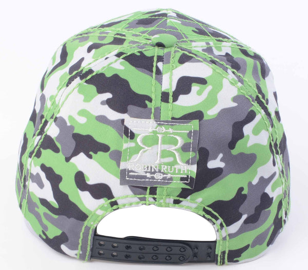 Ireland Camo cap hat back