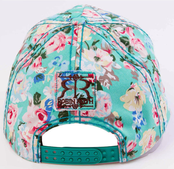 Ireland Blue Flower Hat Cap back