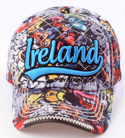 Ireland Graffiti Cap Hat