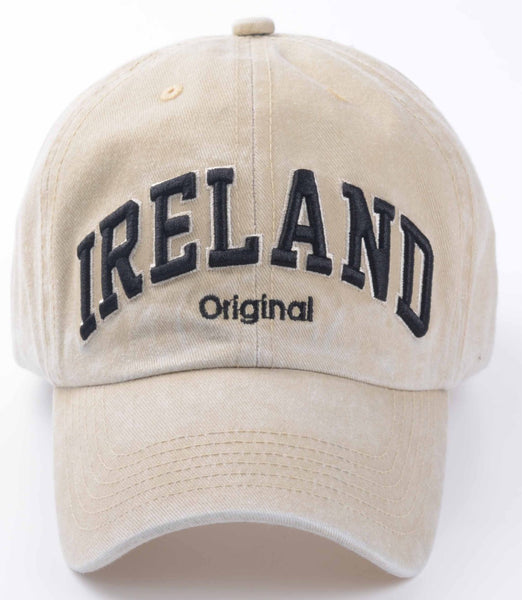 Ireland Beige Baseball Hat