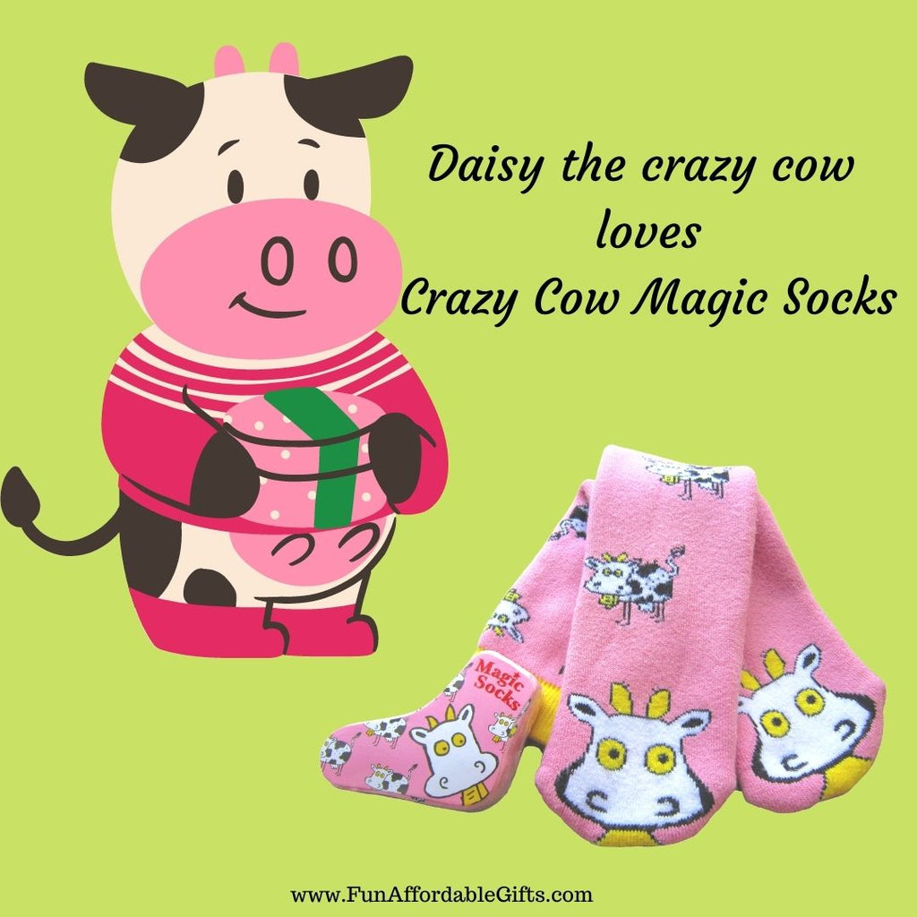 Crazy Cow Magic Socks