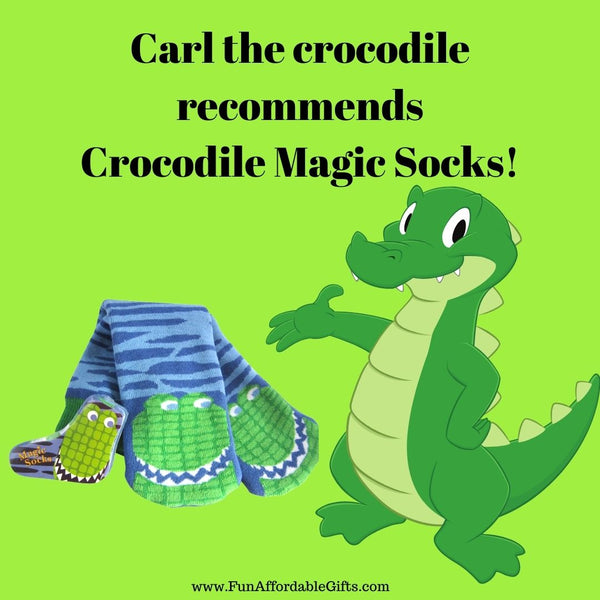 Crocodile Magic Socks