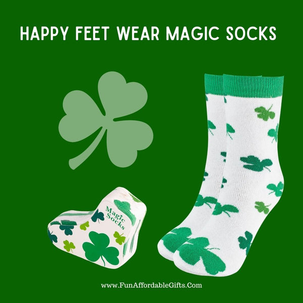 Shamrock Socks - Magic Shamrock Socks
