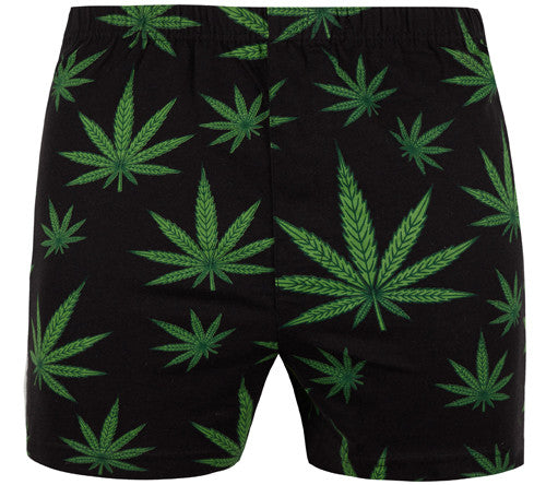 Magic Boxer Shorts / Amazing Boxer Shorts - Leaf