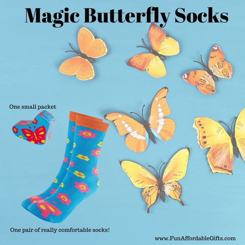 Butterfly Socks - Magic Butterfly Socks