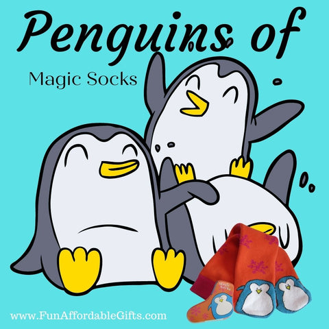Penguin Magic Socks