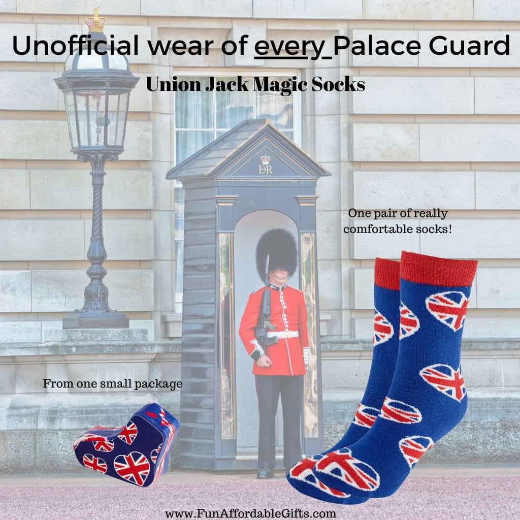 Union Jack Socks - Magic Union Jack Socks
