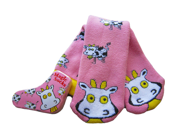 Magic Socks / Amazing Socks - Crazy Cow