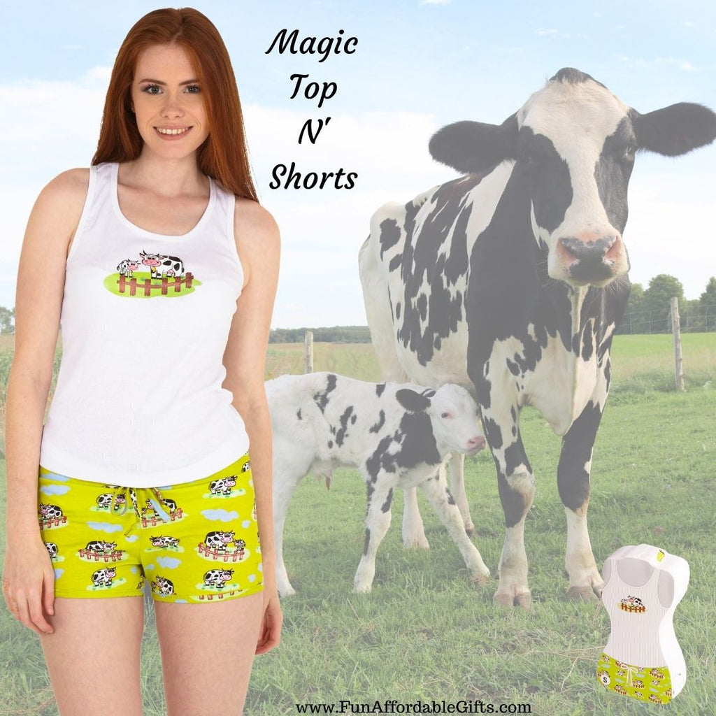 Cow & Calf Magic Top N' Shorts