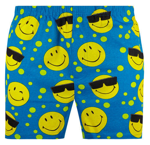 Magic Boxer Shorts / Amazing Boxer Shorts - Smiley Blue