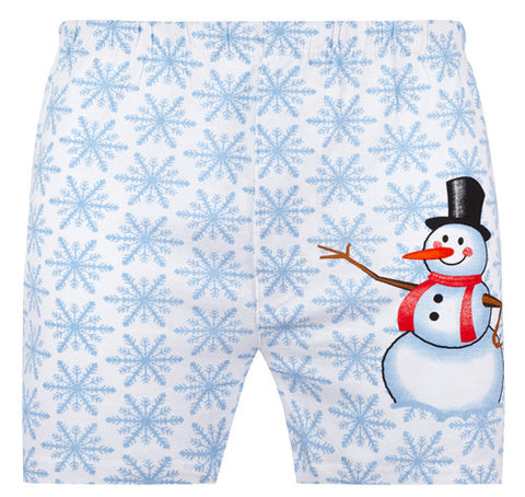 Magic Boxer Shorts / Amazing Boxer Shorts - Snowman