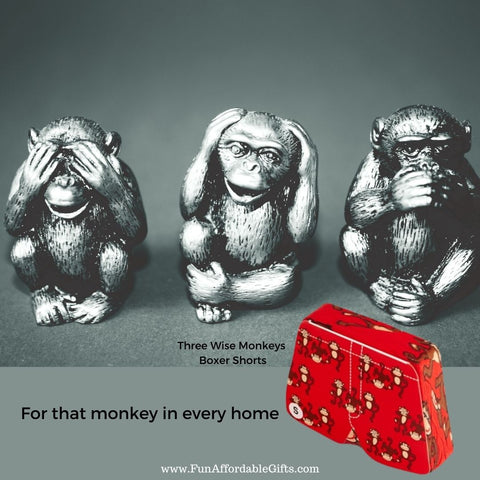 Magic Boxer Shorts - Monkey
