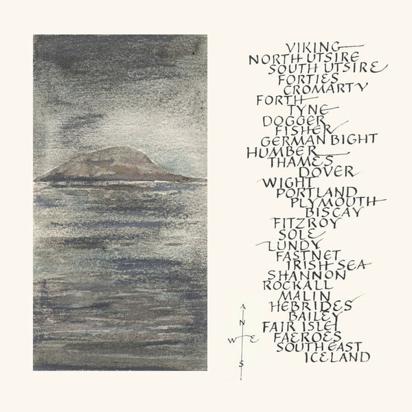 Shipping Forecast- limited edition Giclee print of a watercolour by Rosamund Ulph from a range of art prints at The Prints Gallery. £70 exc p&p