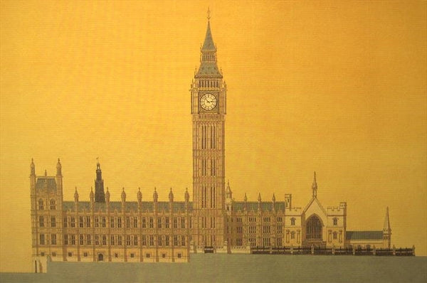 Houses of Parliament - London.  Limited edition giclee print by artist Andras Kaldor.  £80 at The Prints Gallery