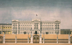 Buckingham Palace.  Limited edition giclee print by artist Andras Kaldor.  £80 at The Prints Gallery