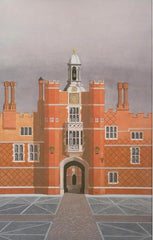 Hampton Court  Limited edition giclee print by artist Andras Kaldor.  £80 at The Prints Gallery