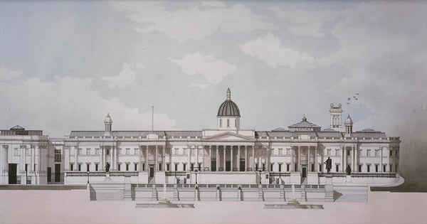 National Gallery - London.  Limited edition giclee print by artist Andras Kaldor.  £80 at The Prints Gallery