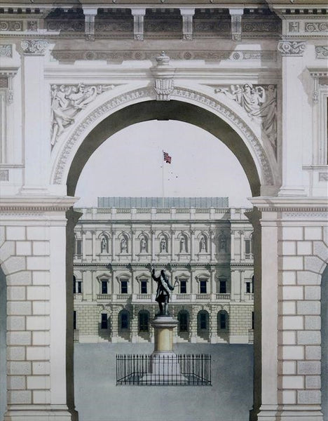 Royal Academy -London  Limited edition giclee print by artist Andras Kaldor.  £80 at The Prints Gallery