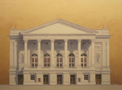 The Royal Opera House Covent Garden.  Limited edition giclee print by artist Andras Kaldor.  £80 at The Prints Gallery