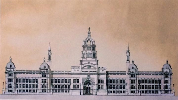 Victoria and Albert Museum London.  Limited edition giclee print by artist Andras Kaldor.  £80 at The Prints Gallery