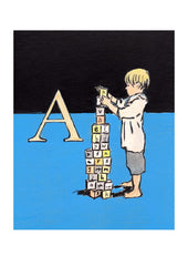 Luke Martineau Alphabet Series 'A is for Alphabet' £50 at The Prints Gallery
