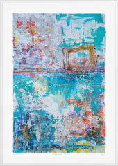 Harriet Hoult Limited edition abstract print from The Prints Gallery