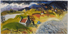 Skye Landscape.  Giclee print by artist Ian Weatherhead.  £150 at The Prints Gallery