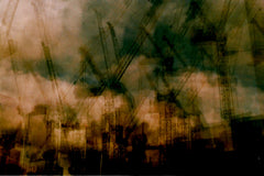 'Cranes' by Laetitia Corbett. A2 photographic print on Hahnemuhle Photo Luster 260gsm paper. £60 from The Prints Gallery