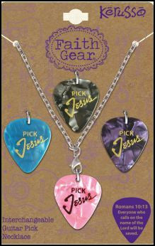 z Pick Jesus Necklace