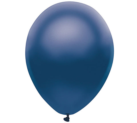 "11"" Pearl Navy Balloon"